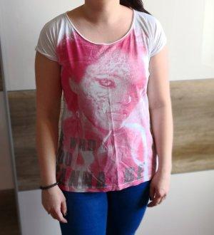T-shirt Only, rot weiß, Gr. 38