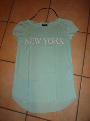 T-Shirt Only türkis Gr. XS mit New York Aufdruck