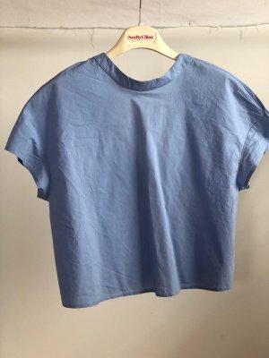 & other stories T-shirt court bleu azur