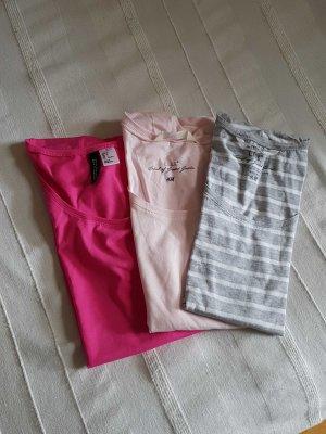T-shirt Paket 3 Tshirts H&M NEU