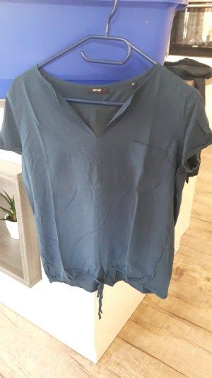 T-shirt petrolblau
