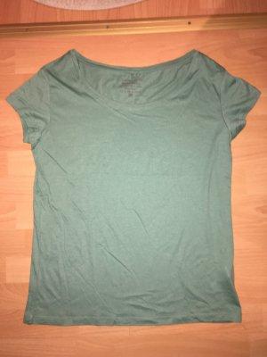 T-Shirt Pieces türkis in Größe M