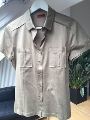 T-Shirt/Polo von Hugo Boss (olivegrün)