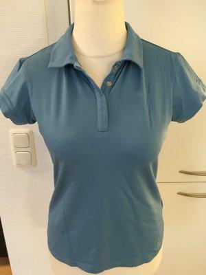 T-Shirt Poloshirt Polohemd hellblau Tommy Hilfiger Sport Gr. 38