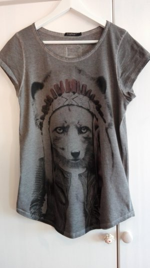 T-Shirt , Print, L, Tigha