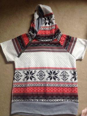 T-Shirt Pullover mit Kapuze