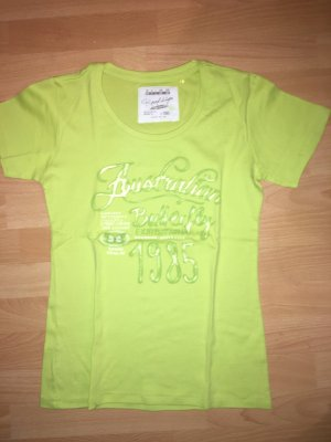T-Shirt Roadsign gelb in Größe M