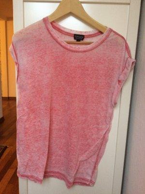 T-Shirt rot Größe 36 von Topshop