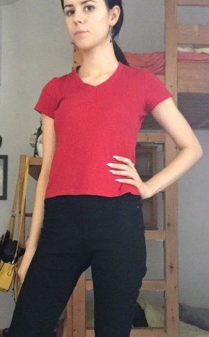 T Shirt rot kurze Ärmel