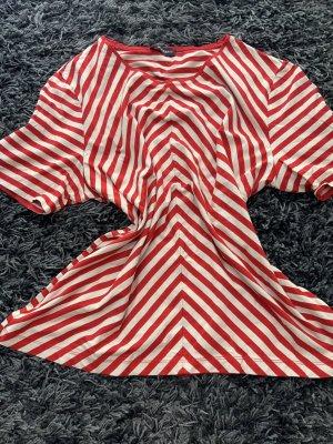 Gläser Gestreept shirt rood-wit