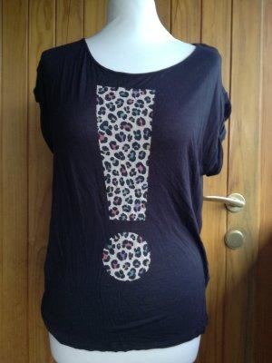 T-Shirt Rufzeichen Gr. 36 von H&M