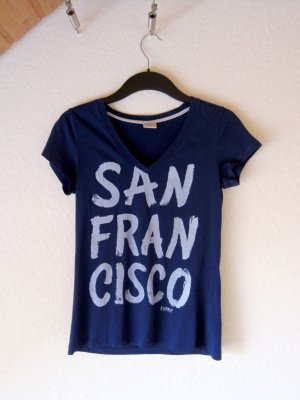 "T-Shirt ""San Francisco"" - blau/XS"