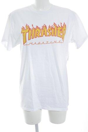 T-Shirt Schriftzug gedruckt Street-Fashion-Look