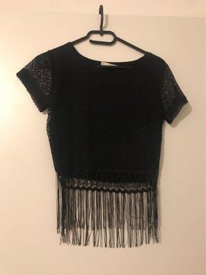 Camisa tejida negro
