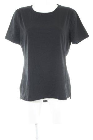 T-Shirt schwarz Casual-Look