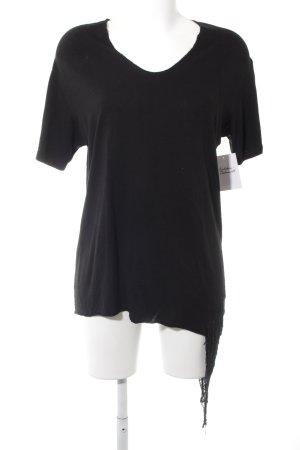 T-Shirt schwarz Street-Fashion-Look