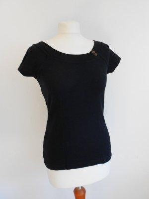 T-Shirt schwarz von Tom Tailor