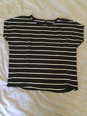 Only Camisa de rayas blanco-negro
