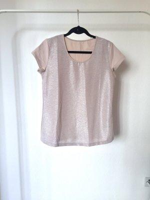 T-Shirt SHINY glitter roségold silber glitzer weihnachten