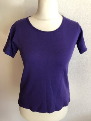T-Shirt Shirt Basic lila