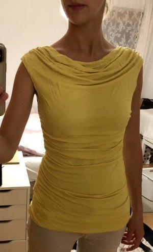 H&M Camiseta amarillo limón