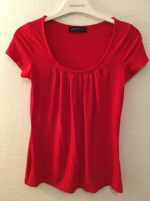 T-Shirt Shirt Blusentop sexy rot Gr. 36