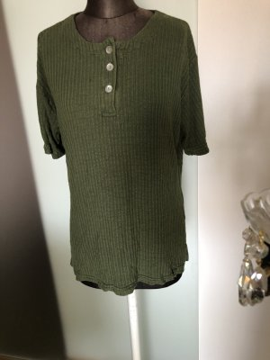 Ribbed Shirt khaki