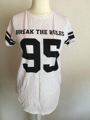 FB Sister Oversized Shirt white-black