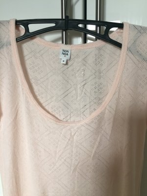T-Shirt Shirt Noa Noa Sommer rosa