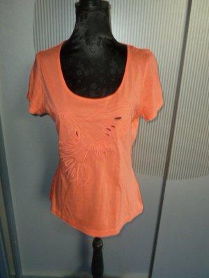T-Shirt Shirt orange lachs Orsay