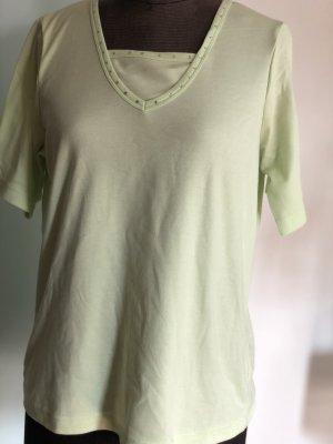 T-Shirt Shirt Tunika Gr 42 44 XL lindgrün