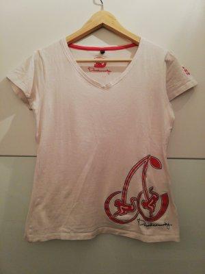 T- Shirt Shirt weiß