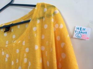 H&M Camiseta amarillo pálido-amarillo