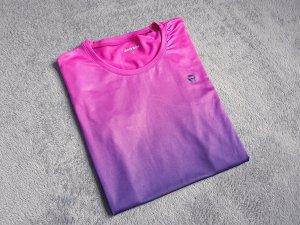 T-shirt de sport multicolore tissu mixte
