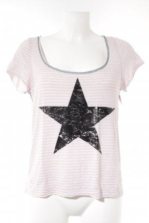 T-Shirt Sternenmuster Casual-Look