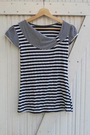 T-Shirt / Streifen / Marinelook