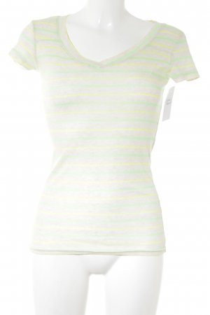 T-Shirt Streifenmuster Casual-Look