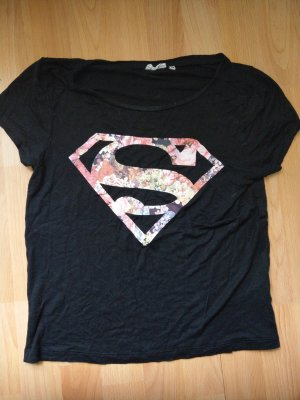"T-Shirt ""Supergirl"" Blumig"
