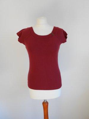 T-Shirt Tom Tailor Größe M Bordeaux rot