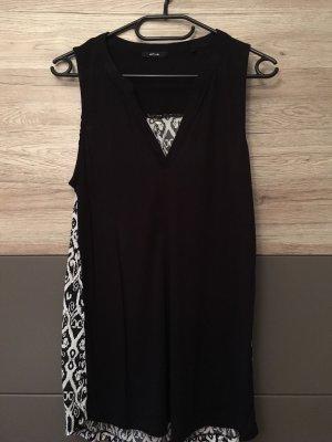 Opus Top long noir-blanc