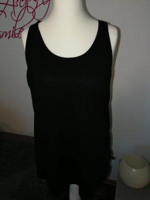 T-Shirt Top in schwarz der Marke s. Oliver Denim in der Größe L