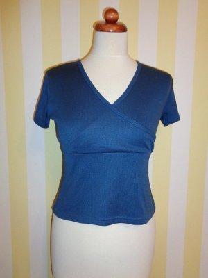 T-shirt Top mit V Ausschnitt