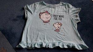 T-Shirt türkis mint Disney Die Schöne und das Biest NEU