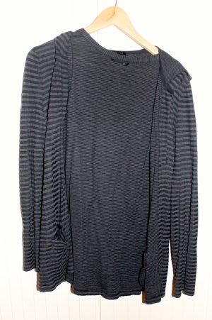 T-Shirt und Cadigan beides gestreift, Größe 38,40