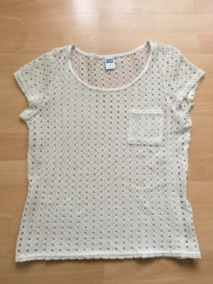 #T-Shirt#Vero Moda#Feinstrick#Lochmuster#trendig#