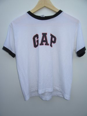 T-Shirt Vintage Retro cropped GAP Gr. S