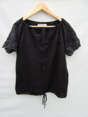 T-Shirt Vintage Retro mit Spitzenärmel Gr. 42
