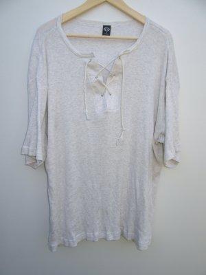 T-Shirt Vintage Retro V-Ausschnitt Gr. XL