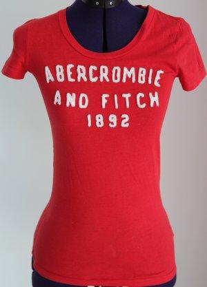 T-Shirt von A&F in rot  XS