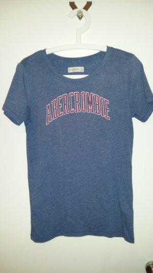 T-Shirt von Abercrombie & Fitch, Gr. M in blau, super Zustand